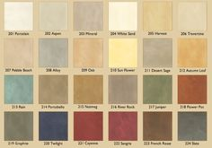 tuscan color combinations | Variance Specialty Finishes: Interior Wall Colors and Exterior Stucco ...