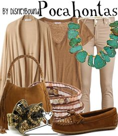 "Bridal Shower Dress Attire Idea: ""Pocahontas"" by lalakay on Polyvore"