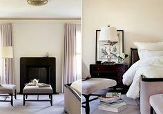 Bedroom - Design by Barbara Barry. Piedmont, California.