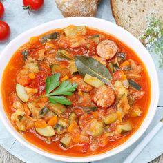 Halloumi, Lunch Time, Thai Red Curry, Zucchini, Soup, Cooking, Ethnic Recipes, Polish, Kitchen
