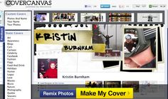 5 Websites for Cool Facebook Cover Photos  If you're looking to add a unique, personal touch to your Facebook Timeline, check out these sites for stock images, original designs and customized photo collages.