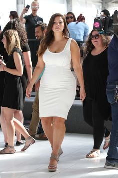 A Week in Her Style: Ashley Graham. Proving once again that size shouldn't determine your style.