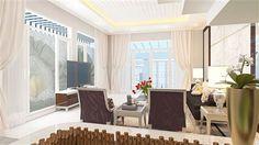 Cải tạo nội thất nhà 80m2 theo phong cách hiện đại