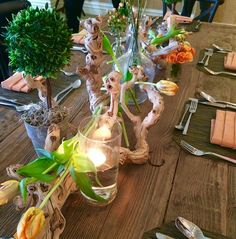 Perfect rustic table setting to highlight our Farm to Table philosophy behind our food creations at Hyatt Regency Sacramento.