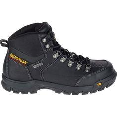 647e8c55616e4a Cat Footwear P90936 Men's Threshold Waterproof Steel Toe Work Boot. Black 13Steel  Toe Work BootsShoe BootsShoesCaterpillarBlack ...