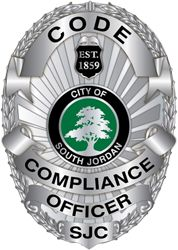 code compliance officer badge