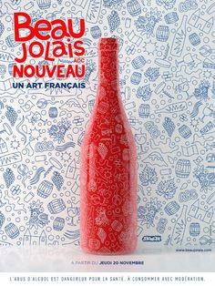 Le Beaujolais Nouveau, un art français   Skwak et Havas 360° pour l'Inter Beaujolais (Beaujolais nouveau 2014)