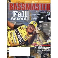Bassmaster (1-year auto-renewal)  Bassmaster Magazine Subscriptions: $25.00   Save 54% over the newsstand price!
