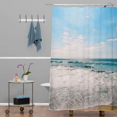 Lisa Argyropoulos Take Me There Shower Curtain | DENY Designs Home Accessories