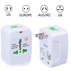 Hot Universal Travel Adapter Converter Electrical Plug Socket US UK EU AU Interional Travel Plug Adaptor
