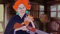 Year of the Villain: Madame Medusa from The Rescuers #disneyvillain