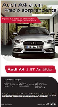 Audi A4 a un precio sorprendente. Haz click en el enlace o en la imagen.