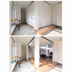 シンプルライフ/シンプルモダンインテリア/土間玄関/玄関/入り口のインテリア実例 - 2015-10-13 21:36:11 | RoomClip(ルームクリップ)