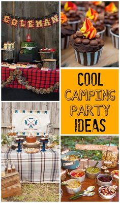 61 Best Camping Party Ideas Images Themed Parties Camping Themed