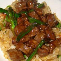 Mongolian Beef    recipe @  #beef #recipes