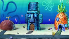 10 Best Bikini Bottom Spongebob Background Images Spongebob