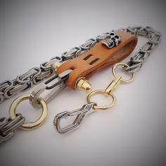 Biker Wallet Chain Skull-LB-1