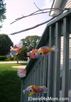 recycled fish craft