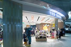 5d48299cf Ted Baker Store by Rosanna Lilly at Stansted Airport
