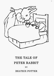 Free Peter Rabbit coloring book