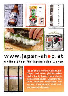 japan-shop.at Sushi, Japan Shop, Root Beer, Beverages, Canning, Mugs, Food, Beer, Tips