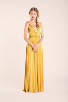 6ac2927996 8 Best Mustard Bridesmaid Dresses images