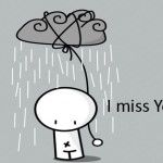 I Miss You FB Cover Photo