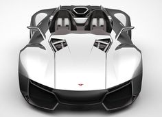 Road Legal Rezvani Beast High Performance Roadster With Removable Glass Windshield