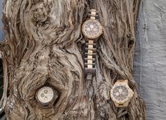 WoodMoon Orologi in legno - Wooden Watches - Watches made of wood.