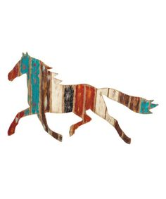 Another great find on #zulily! Running Horse Wall Art #zulilyfinds