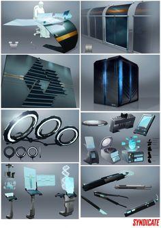 deus ex environment concept art - Google Search