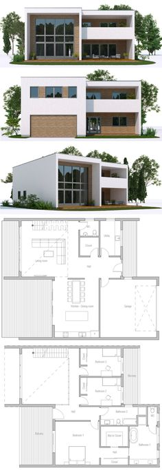 Modern Home Plan