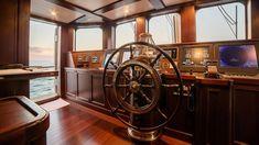 Yacht Boat, Boat Dock, Motor Cruiser, Explorer Yacht, Classic Yachts, Classic Boat, Guest Cabin, Ireland Vacation, Ireland Travel