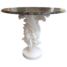 Serge Roche Centre Table with Marble Top