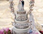 OvertheTopStudios  Wedding Cake Toppers