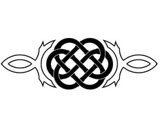Celtic Wedding Knot Tattoo I want on my ring finger