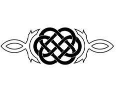Celtic Wedding Knot Tattoo