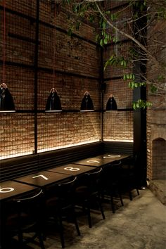 Caravaggio black pendants, Tartinery Nolita in SoHo