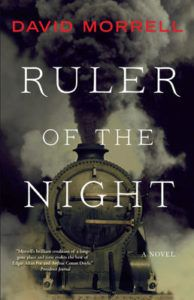 David Morrell signs Ruler Of The Night, Wednesday, November 16 at 7 PM!