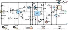 Super Light Sensor Circuit Diagram