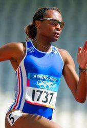 Sylviane Felix  1997 Campeonato del MundoAtenas8ª en 200 m - 3ª en 4x100 m  1998 Campeonato de EuropaBudapest1ª en 4x100 m42.59  2001 Campeonato del MundoEdmonton2ª en 4x100 m42.39  2002 Campeonato de EuropaMunich4ª en 200 m - 1ª en 4x100 m  2003 Campeonato del MundoParís1ª en 4x100 m41.78  2004 Juegos OlímpicosAtenas3ª en 4x100 m42.54  2006 Campeonato de EuropaGöteborg7ª en 100 m 11.40 - 5ª en 200 m 23.45