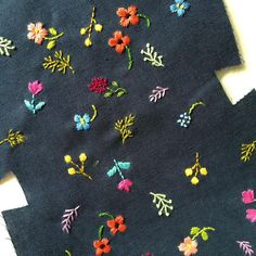 Work in progress - embroidery portion finally done! Embroidery On Kurtis, Kurti Embroidery Design, Hand Embroidery Stitches, Silk Ribbon Embroidery, Embroidery Hoop Art, Crewel Embroidery, Hand Embroidery Designs, Embroidery Techniques, Cross Stitch Embroidery