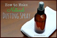 Homemade natural dusting spray #DIY