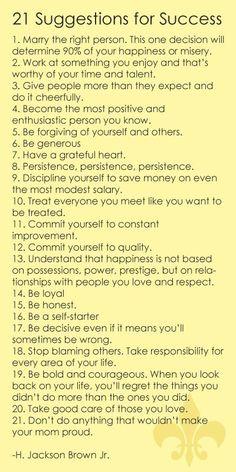 Be a self starter!!
