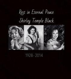 Shirley Temple Black  1928-2014