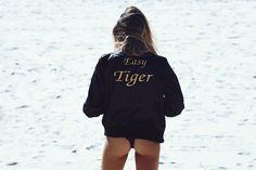 Easy tiger bomber jacket – The Naked Tiger