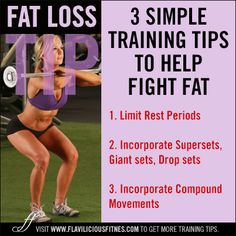 fitness tips to help fight fat!!!! WOOT! www.flaviliciousfitness.com
