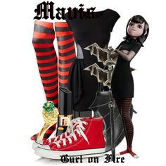 """""""Mavis from Hotel Transylvania"""" by the-gurl-on-fire on Polyvore Vampire Won 4th place!"""