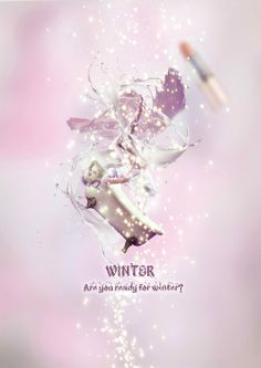『 winter 』 Graphic Design, Tote Bag, Winter, Winter Time, Carry Bag, Tote Bags, Visual Communication
