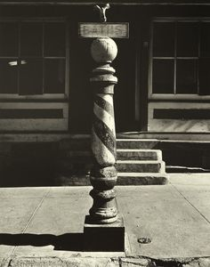 Wright Morris     Barber Pole, Nebraska      1947